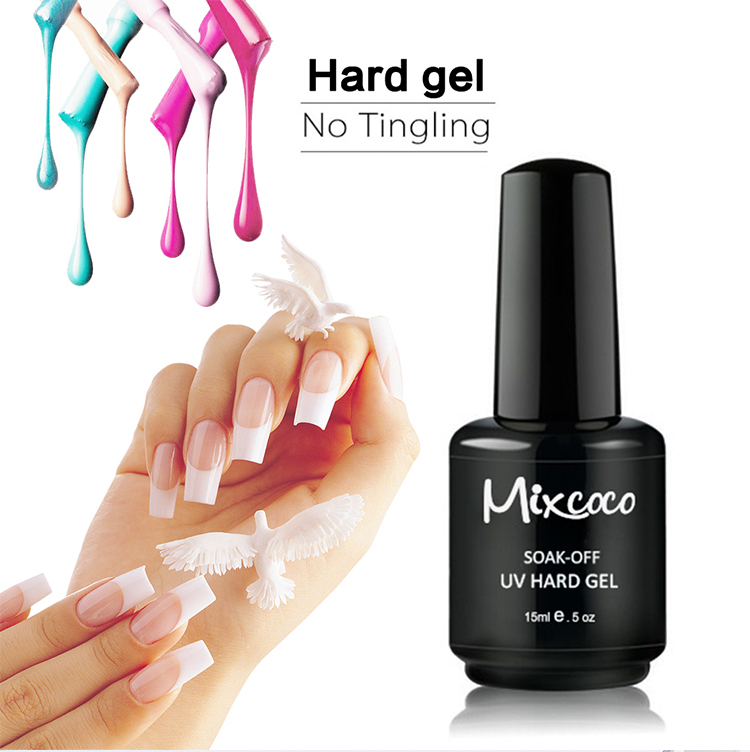 Mixcoco Hot Selling Hard Builder Gel Nails Extension UV Gel