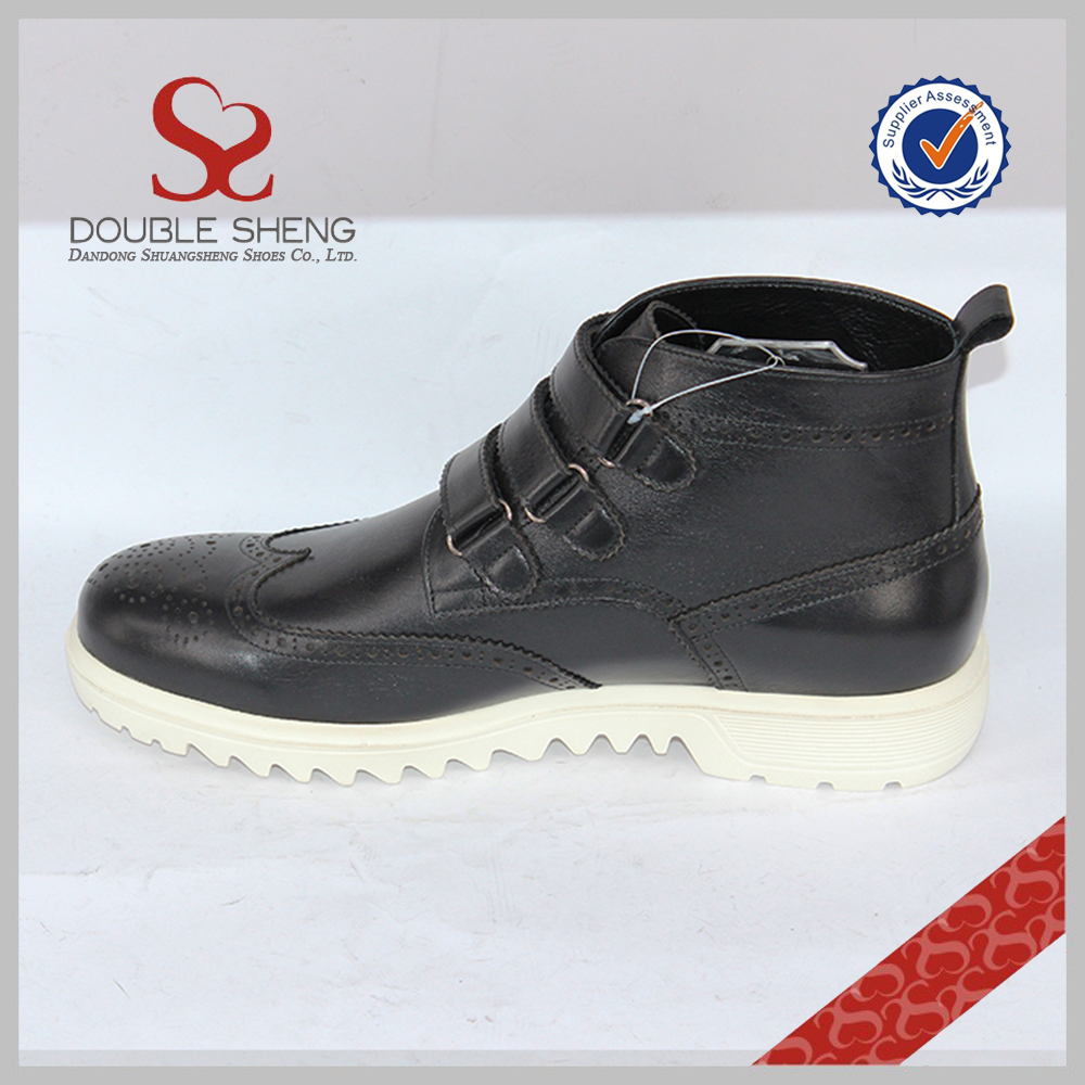 style leather dress quality boot High fashion tip new wing men brogue dXqq0xpv
