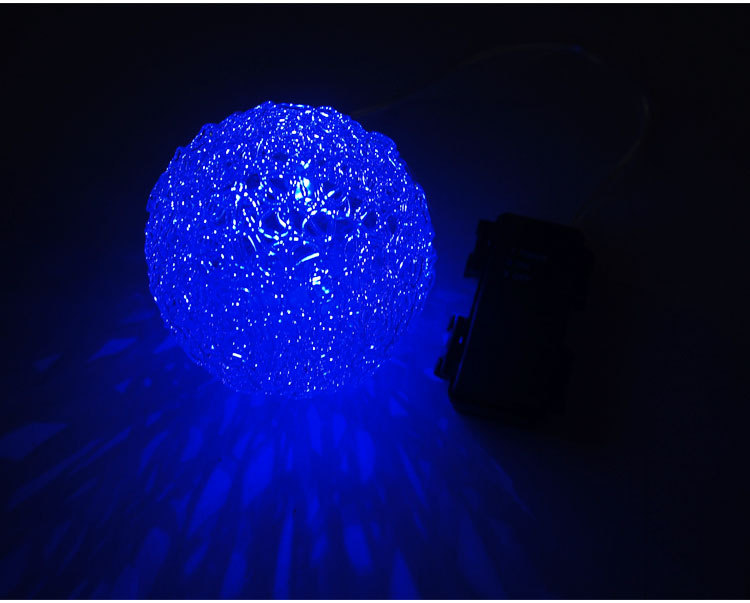 Halloween Timing Led Party Battery Operated Led Light Round Globe ...