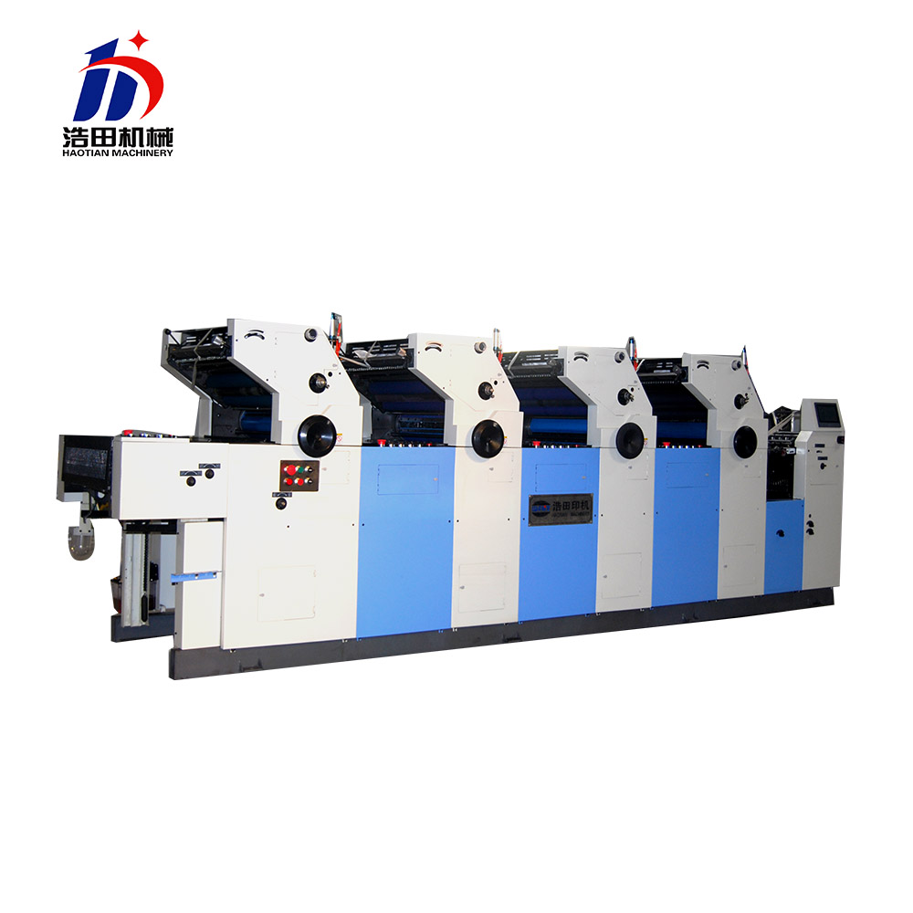 haotian economical gto 52 offset litho printing machine 4 colour supplier