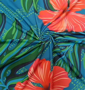 Wholesales 86% polyester 14% elastane swimwear fabric