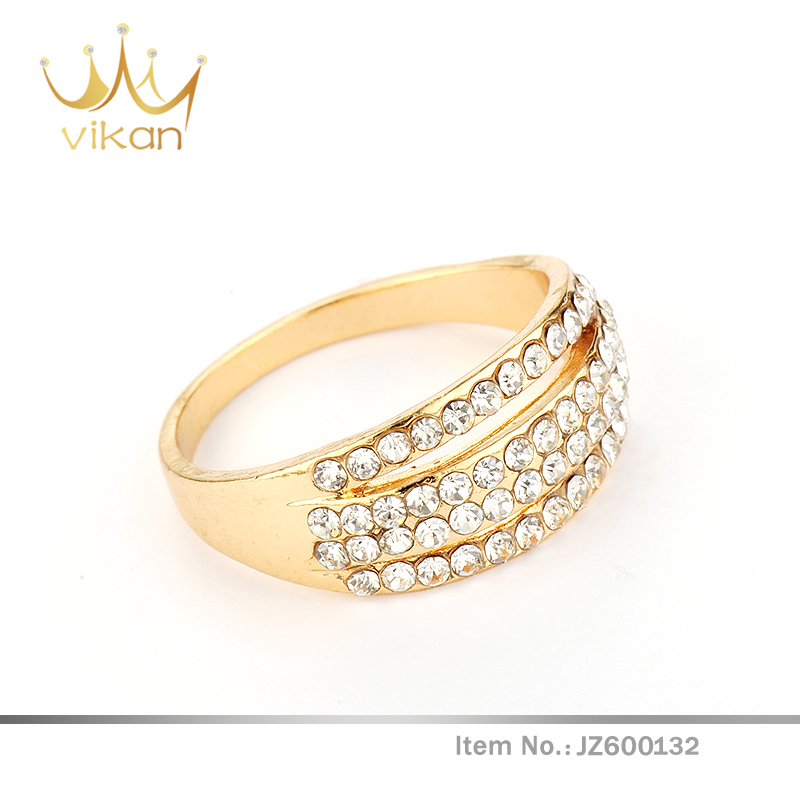 18k Solid Gold Jewelry Asian Wedding Rings Wholesale Price Buy