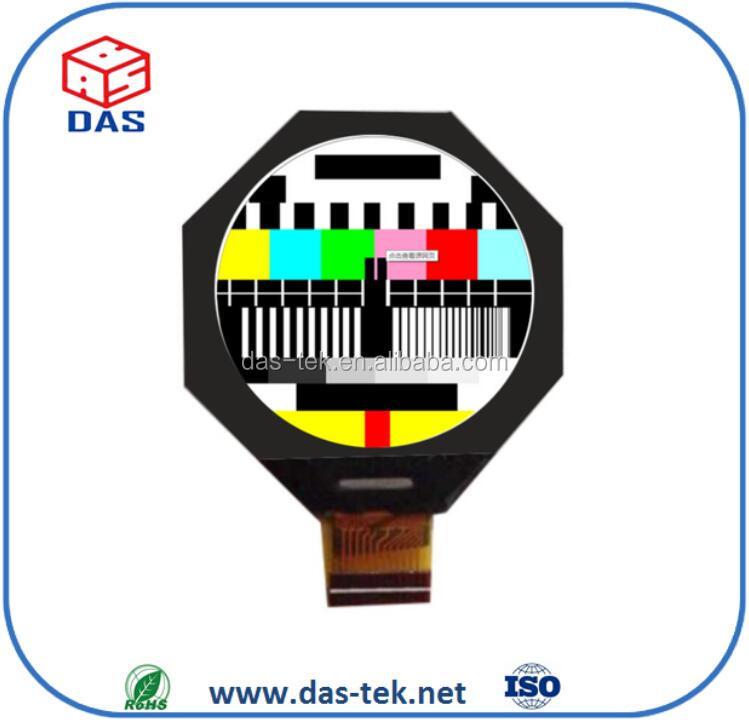 2.1 inch tft round color lcd monitor for electric bike// watch lcd module 320*320