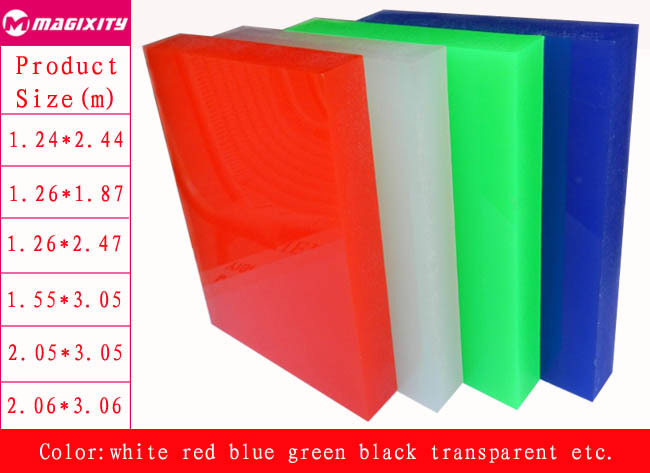 China Manufacturer High Gloss Color Or Clear Cast Acrylic Sheet ...