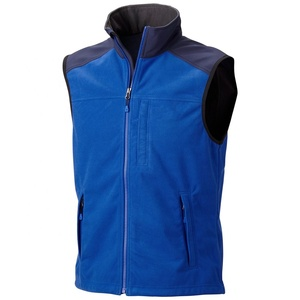 Promotional Fashion Polar Fleece Mens Vests