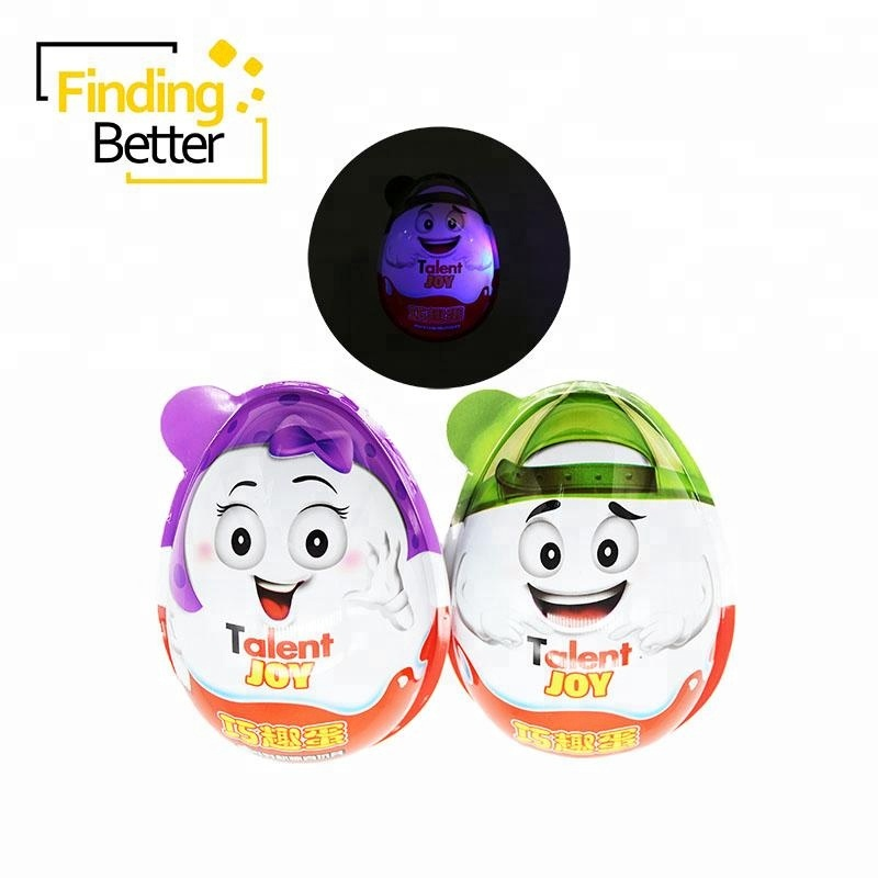 Hot Sale 20g Big Chocolate Eggs Toy Candy Giant Surprise Egg with Sweet Chocolate Candy and Biscuits