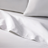 Wholesale china 100% cotton plain hospital/hotel/home white bed sheets