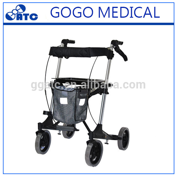 electric rollator with Removable Back Support