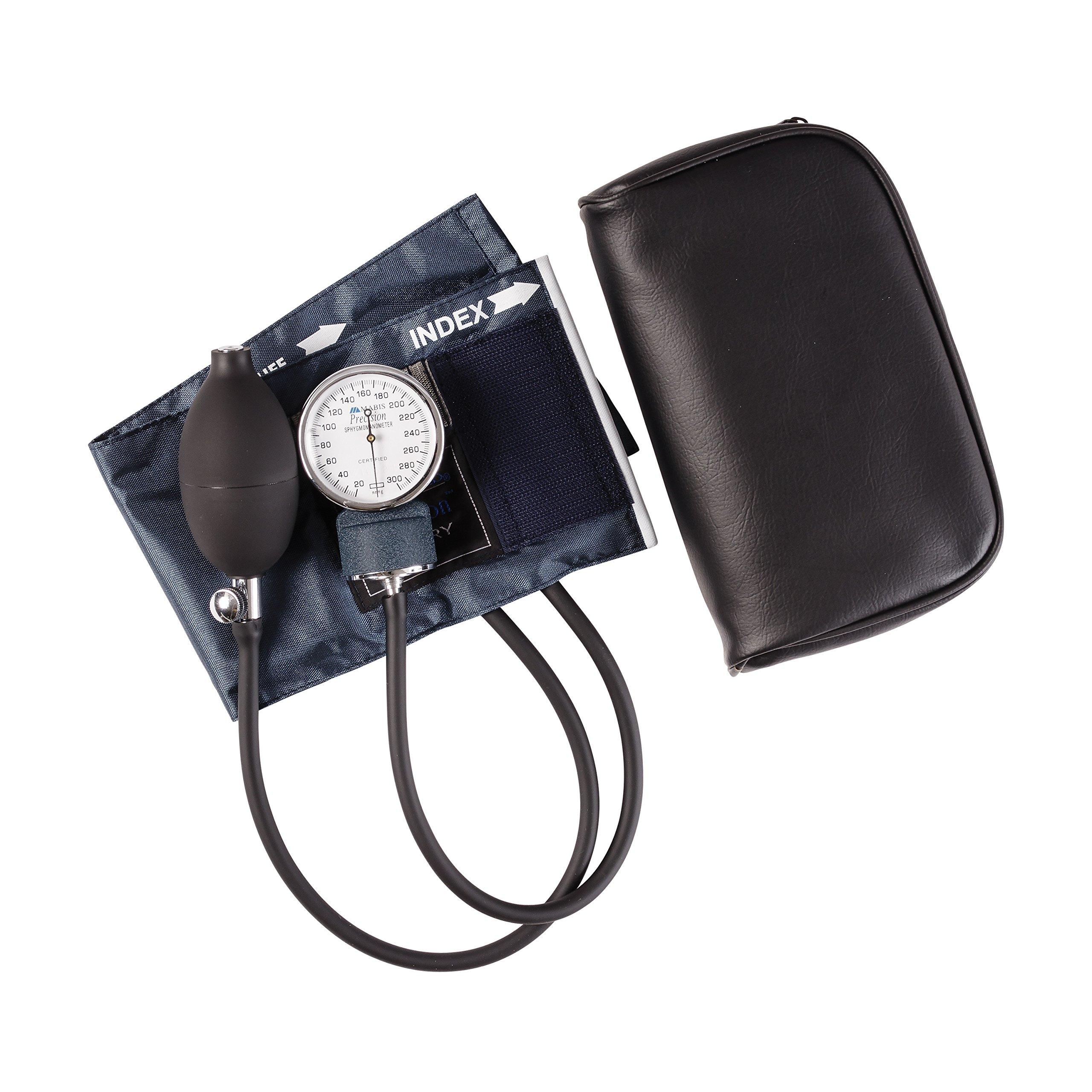 Mabis Precision Series Aneroid Sphygmomanometer Manual Blood Pressure Monitor, Cuff Size 7.7 to 11.3 inches, Child