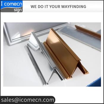 Plating Oppervlak Zilver Desktop Naambordmetalen Tafel