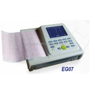 Standard 12 lead ECG machine 12 channel / Digital ECG machine factory price promotion EG07