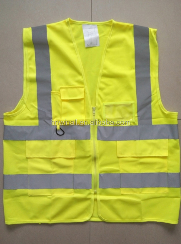 Breathable Road Working Reflective Vests with good quality
