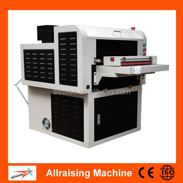 Multi Roller UV Embossing Machine For Cards