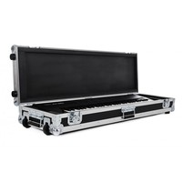 OEM custom made glide style flight case for piano Aluminium DJ CD pull out Handle Flight Storage carrying custom aluminum boxes