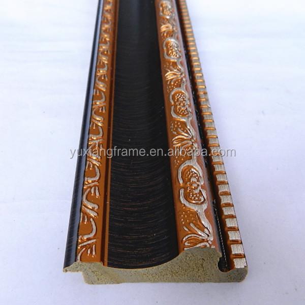 Cornici In Polistirolo Per Specchi.Prezzo Di Fabbrica India Stile Oro Fantasia Effetto Legno