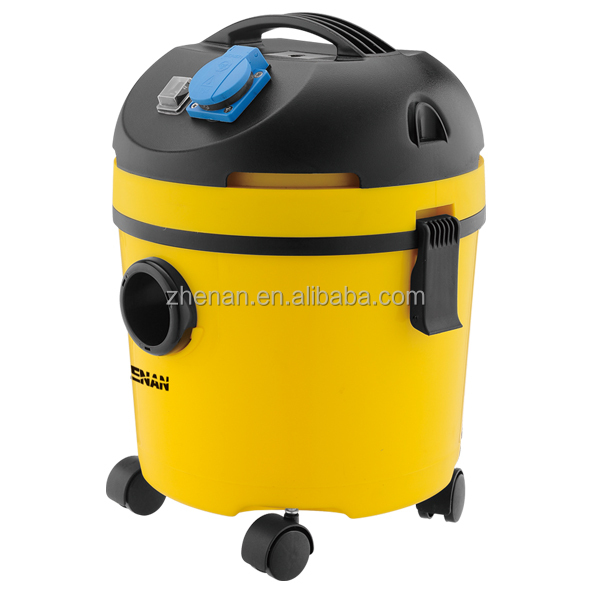 15L portable mini plastic canister wet and dry vacuum cleaner for household