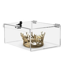 Acryl <span class=keywords><strong>lucite</strong></span> locking kaiserkrone box display premium-fall