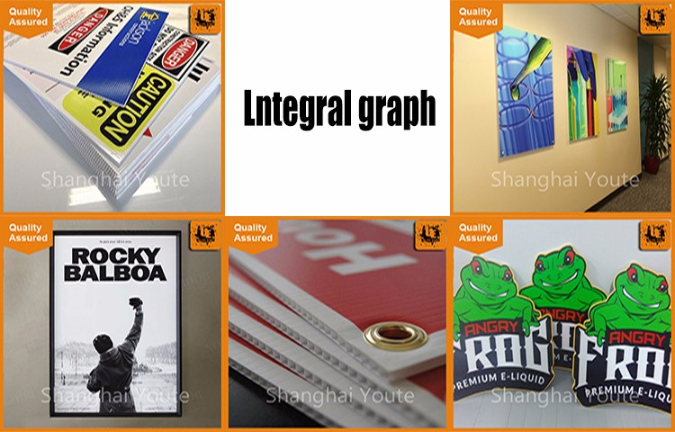 advertising decoration materials/rigid pvc plastic sheet/pvc foam board portrait print