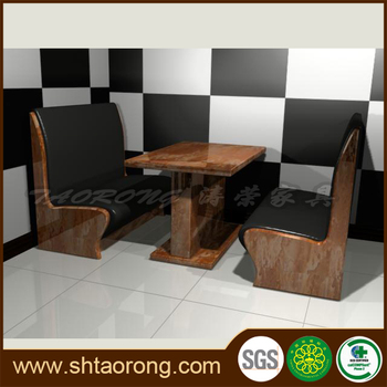 how to build a wooden restaurant booth