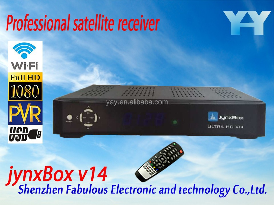 <strong>hd</strong> set top box full <strong>youtube</strong> movies adult channel digital <strong>satellite</strong> <strong>receiver</strong> jb200 module turbo 8psk jynxbox v14