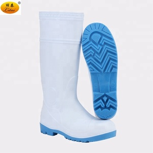 Food Industry PVC Safety Rain Boots