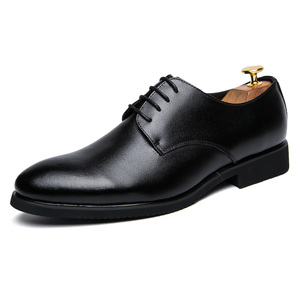 wholesale 2018 new arrival italian men genuine leather dress shoes