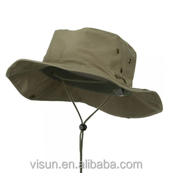 b34dc5916b05a Wide Brim Sun Boonie Hat Summer Bucket Caps UV Protection Camping Fishing  Safari Hiking hat