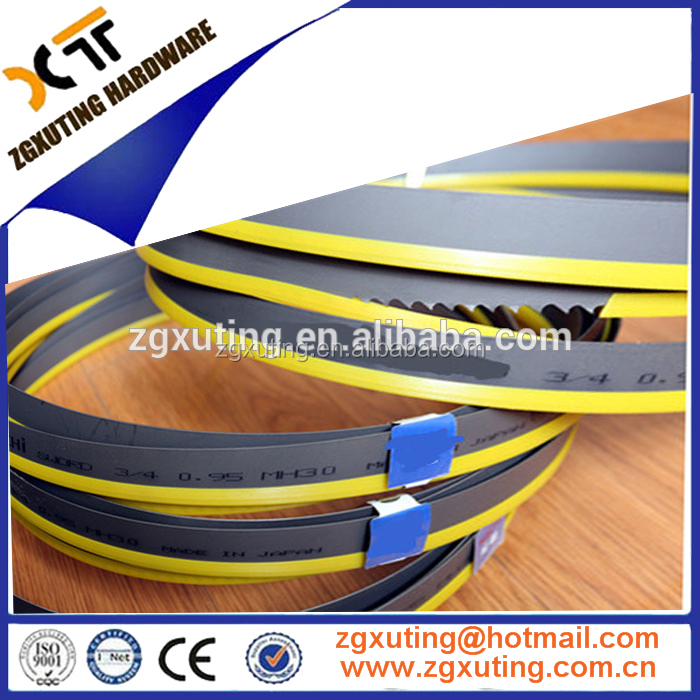 Alloy Steel Bimetal Coil Saw Blade bandsaw blades thickness 0.9 1.1 1.3mm