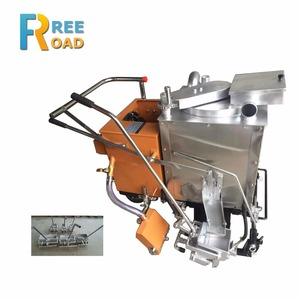 Wholesale thermoplastic road marking paint machine with preheater function