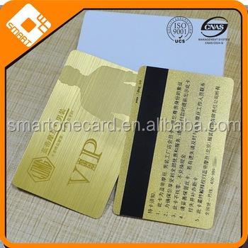 Multi purpose brushed vip metal business card with magnetic stripe multi purpose brushed vip metal business card with magnetic stripeplastic business card reheart Gallery