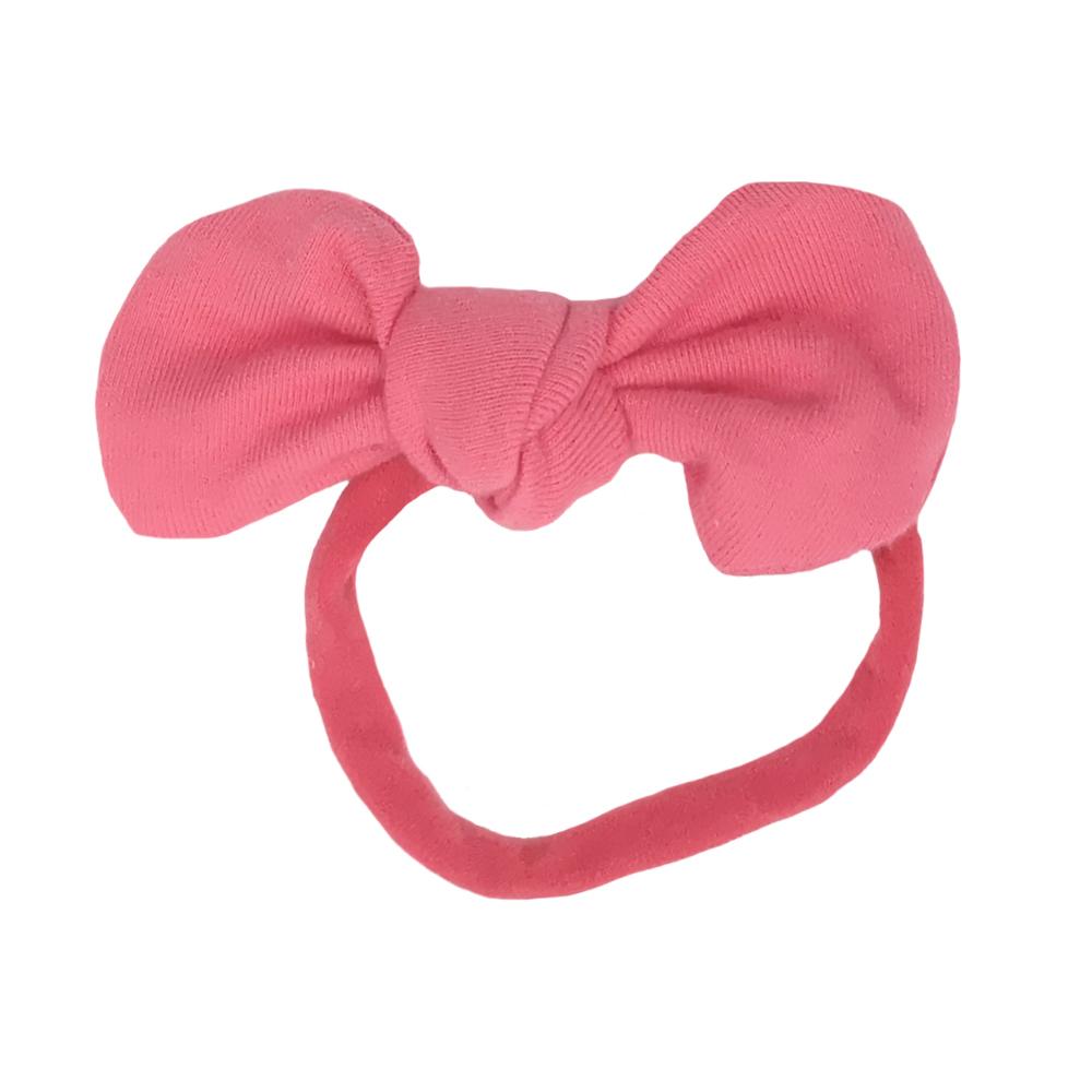 Fabric Bow Nylon Headband Knot Bow Hair Band For Babys Infant Hair Accessory d996bf28726