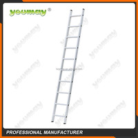 straight aluminum ladder 12 steps with en131 approved