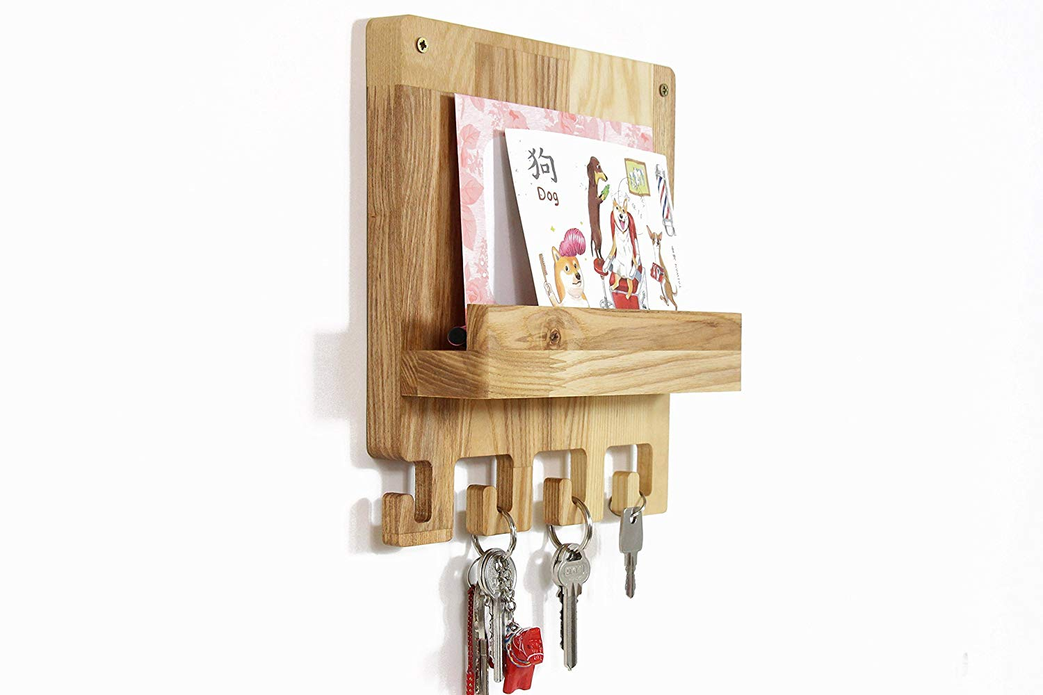 Get Quotations · Key Holder For Wall, Key Rack, Wall Key Holder, Mail And Key  Holder