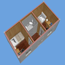 Cheap prefabed movable container house use for living room ,school ,office apartment