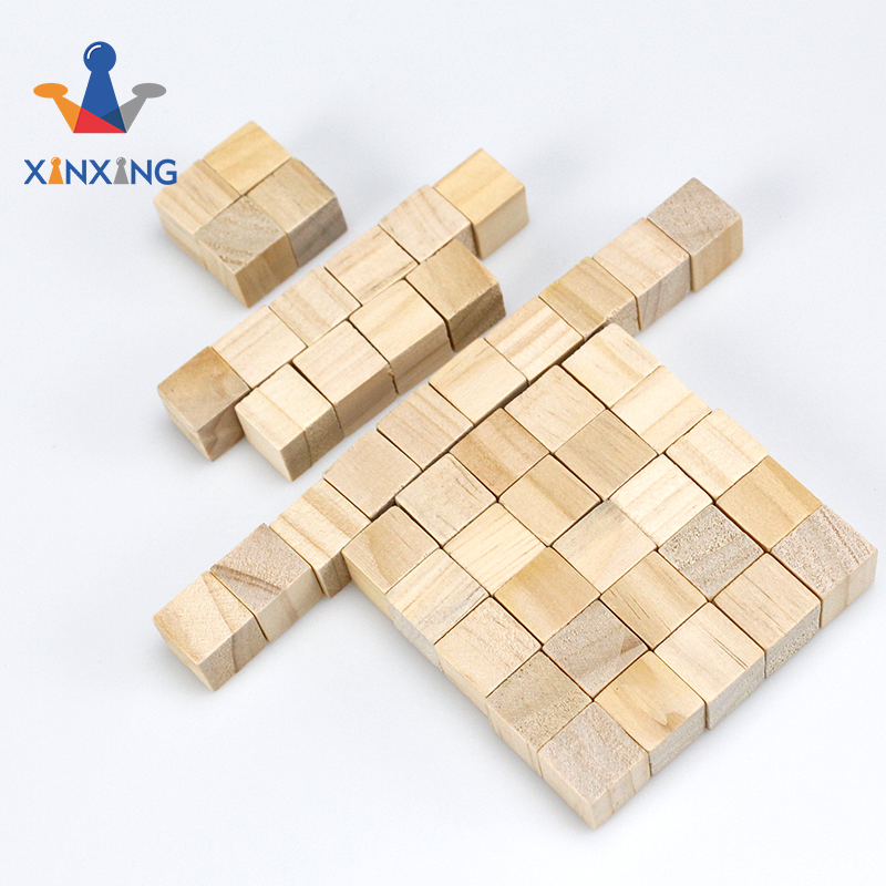 Wooden Cubes - 2 Inch - Wood Square Blocks For Photo Blocks, wood cube puzzle Crafts & Diy Project