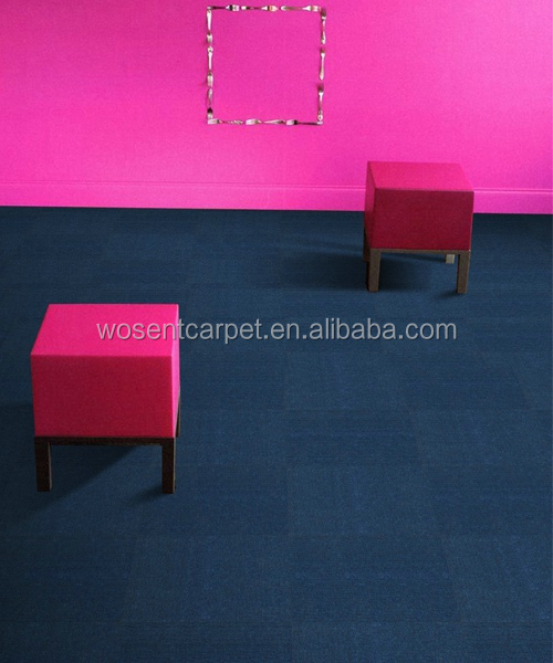 Hotel dining hall carpet prevent stain pp bitumen backing lobby tile