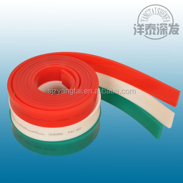 screen printing squeegee vinyl, textile machinery spare parts