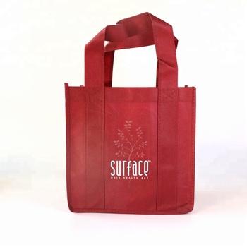 sedex custom printed reusable durable nonwoven grocery tote bag