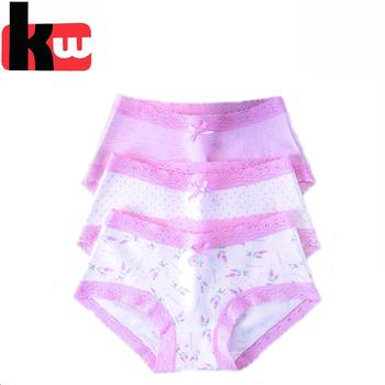 13297ad3ee70 New Design Lovely Soft Cotton Children Underwear For Girls Panties ...