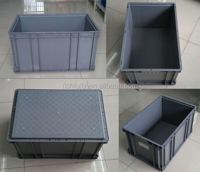 Bac De Rangement En Plastique Avec Couvercle Pour Le Transport Logistique Buy Bac De Rangement Bac En Plastique Bac Avec Couvercle Product On Alibaba Com