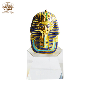High quality gold sphinx with low price Egyptian souvenir metal crafts