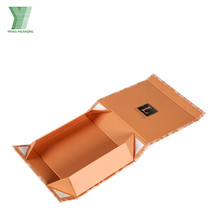Experienced Luxury Flip Top Folding Apparel Paper Box Made In China