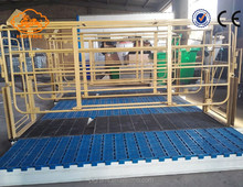 1.8*2.5 hard pig farrowing crates for hog with pvc panels