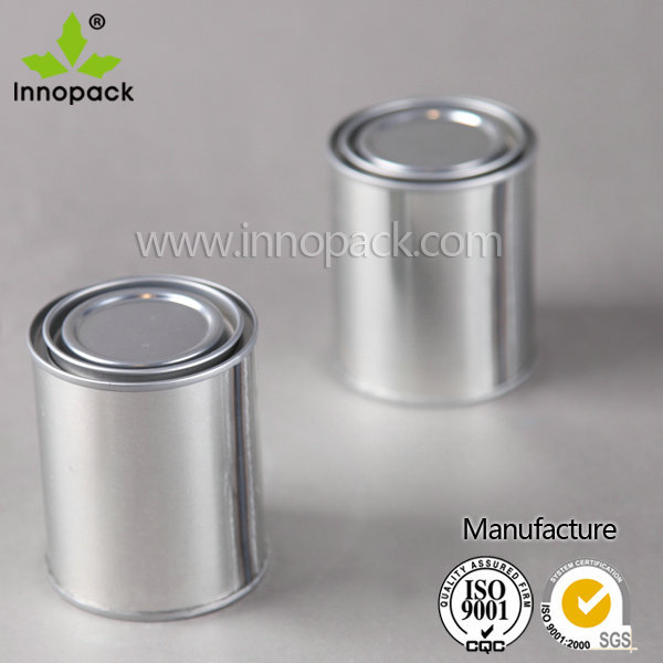 Mini 125ml round small pry lid tin paint can for chemicla use