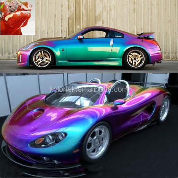 Chameleon Pearl Colour Automotive Paint Pigment Factory