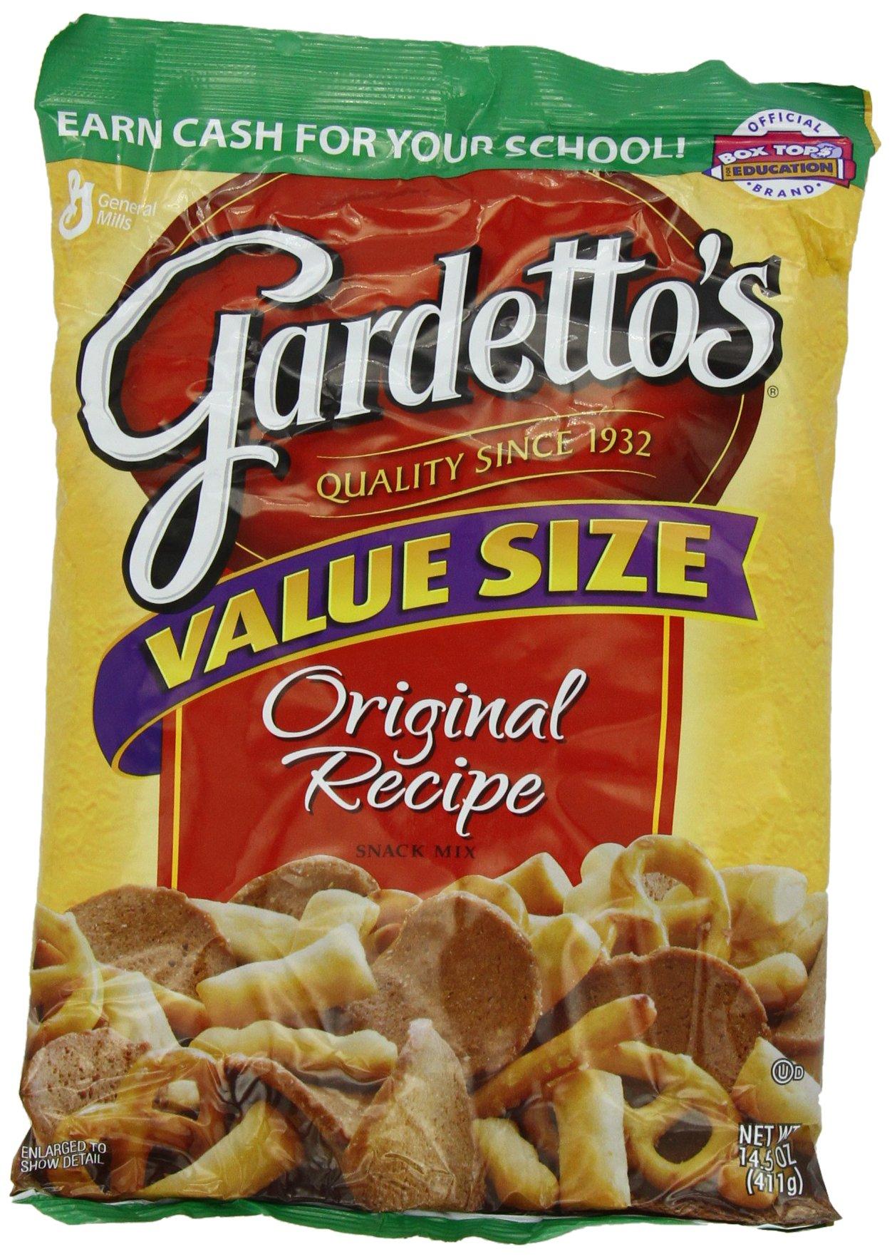 Gardetto's Original Recipe Snack Mix 14.5 Ounce. Bag (Pack of 4)