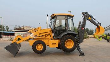 4x4 kompakten traktor mit frontlader und bagger buy. Black Bedroom Furniture Sets. Home Design Ideas