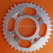 steel motorcycle chain sprocket as guangzhou motorcycle spares