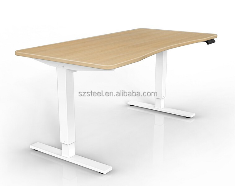 adjustable office desk india electric table height competitive price electronic single