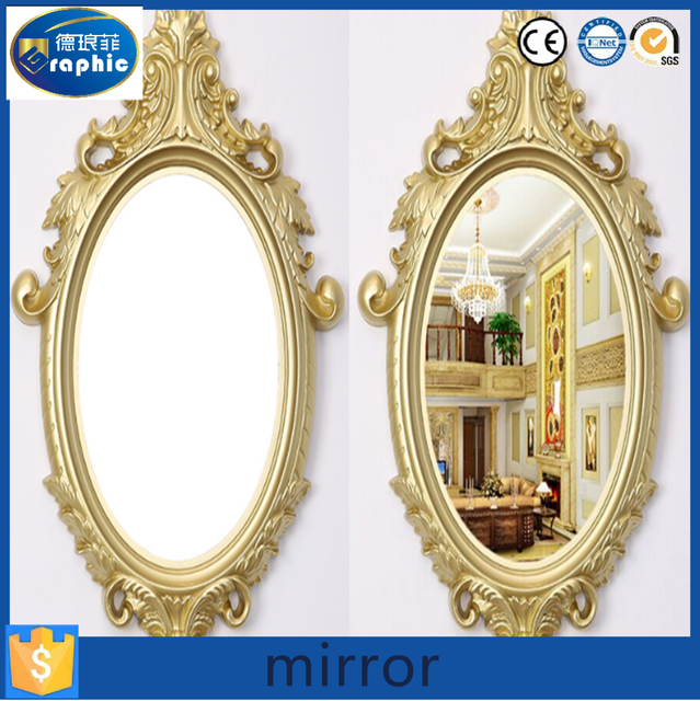 modern decorative oval bathroom mirrors with frame - Decorative Mirror Manufacturers